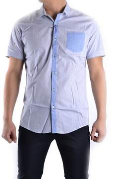Massimo Rebecchi Men's Light Blue Cotton Shirt.