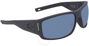Costa del Mar Grey Rectangular Sunglasses CAP 187 OGP