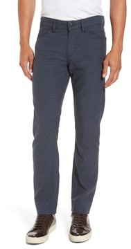 BOSS Men's Delaware Microcheck Slim Fit Pants