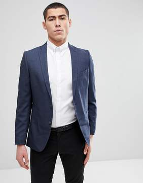 Selected Slim Suit Tuxedo Jacket With Satin Lapel
