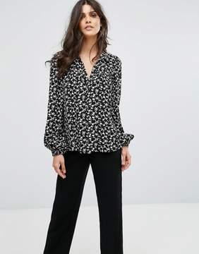 BA&SH Floral Shirt