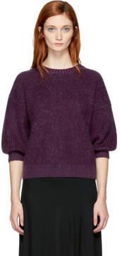 3.1 Phillip Lim Purple Mohair Sweater