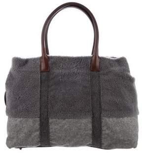 Brunello Cucinelli Wool Tote Bag