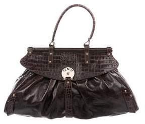 Fendi Crocodile-Trimmed Magic Bag