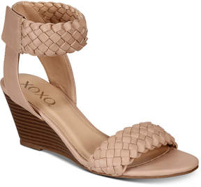 XOXO Sonnie Wedge Sandals Women's Shoes