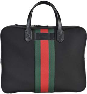 Gucci Web Band Briefcase