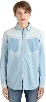 G Star Modern Arc Cotton Denim Shirt