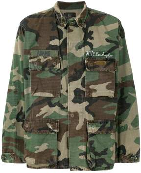 HTC Los Angeles camouflage embroidered jacket
