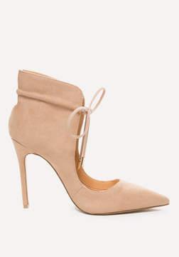 Bebe Sloane Ankle Wrap Pumps