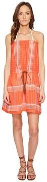 Letarte Strapless Embroidered Dress Women's Swimwear