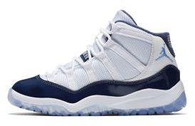 Nike Air Jordan XI Retro Three-Quarter Little Kids' Shoe