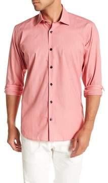 Jared Lang Solid Woven Shirt