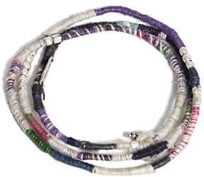 21men 21 MEN Ebb and Flow Wrap Bracelet
