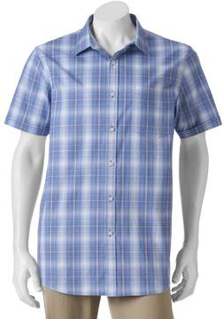 Apt. 9 Big & Tall Classic-Fit Patterned Stretch Button-Down Shirt
