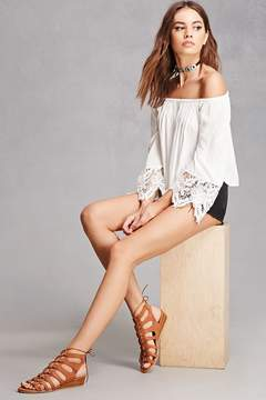 Forever 21 Coolway Caged Wedge Sandals