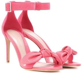 Alexander McQueen Leather and suede sandals