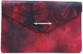 M2Malletier Pony-style calfskin clutch bag