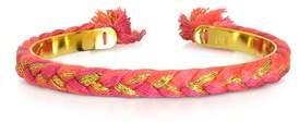 Aurelie Bidermann Women's Pink Steel Bracelet.