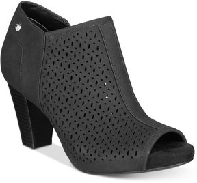 Giani Bernini Angye Perforated Peep-Toe Shooties, Created for Macy's Women's Shoes