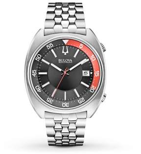 Bulova Accutron II 96B210 Silver/Black Analog Quartz Men's Watch
