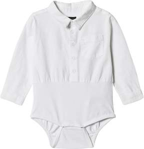 Mini A Ture White Laur Shirt Body