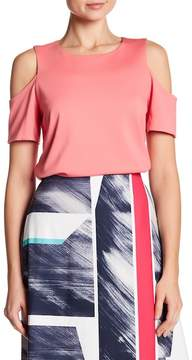 Ellen Tracy Open Shoulder Top