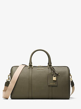 Michael Kors Jet Set Travel Large Leather Weekender - GREEN - STYLE