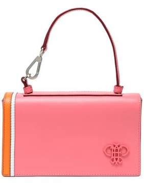 Emilio Pucci Micro Pilot Appliquéd Leather Clutch
