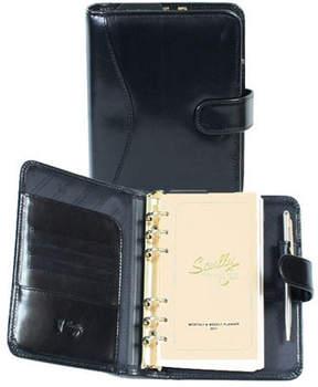 Scully Tab Weekly Organizer Italian Leather 8003