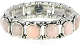 Philippe Audibert Lakota Rose Agate Stretch Bracelet