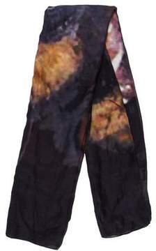 Givenchy Printed Silk-Blend Scarf