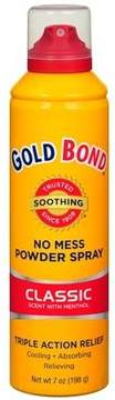 Gold Bond No Mess Powder Spray Classic Scent with Menthol