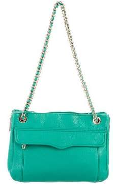 Rebecca Minkoff Grained Leather Tote - GREEN - STYLE