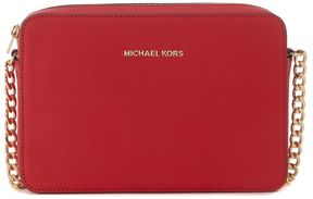 Michael Kors Jet Set Red Saffiano Shoulder Bag - ROSSO - STYLE