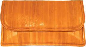 Latico Leathers Eelskin Envelope Flap Clutch L8411 (Women's)