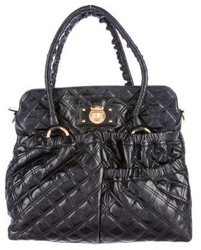Marc Jacobs Quilted Ryder Bag - BLACK - STYLE
