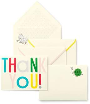 Kate Spade Infant Hey Baby 10-Pack Thank You Cards