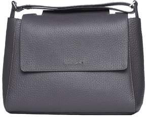 Orciani Sveva M Leather Shoulder Bag