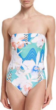 6 Shore Road Marina Strappy One-Piece Swimsuit