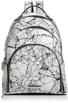 KENDALL + KYLIE Sloane Marble Print Backpack