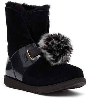 UGG Isley Genuine Shearling Pompom Boot (Baby, Toddler, & Little Kid)