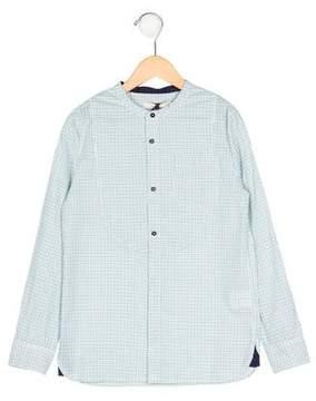 Stella McCartney Boys' Checkered Long Sleeve Shirt w/ Tags