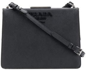 Prada saffiano light frame shoulder bag