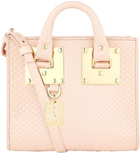 Sophie Hulme Small Python Albion Box Tote Bag