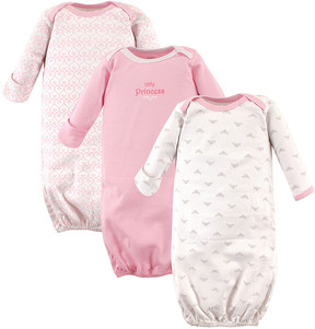 Luvable Friends Pink Princess Gown Set - Newborn