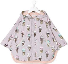 Stella McCartney ice cream print cape