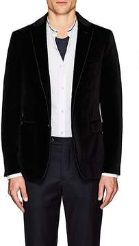 Officine Generale Men's Cotton Velvet Two-Button Sportcoat