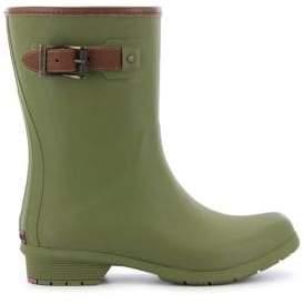 Chooka City Matte Rubber Mid-Calf Rain Boots