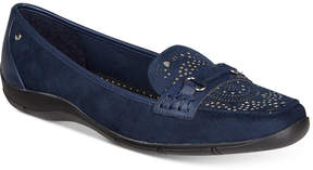 Karen Scott Jazyy Perforated Loafers, Created for Macy's Women's Shoes