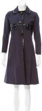Anya Hindmarch Knee-Length Button-Up Coat